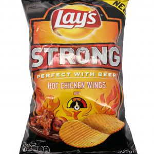 Lays Chips Strong Hot Chicken Wings 125g